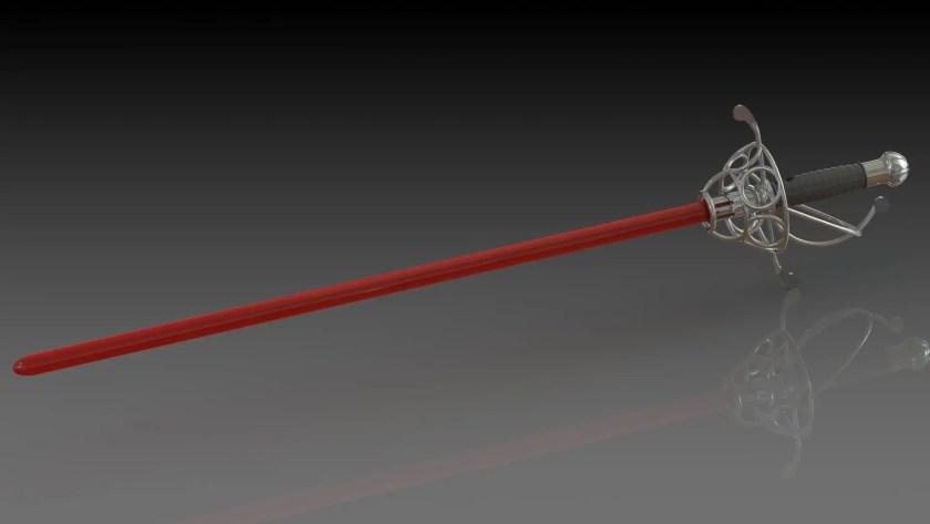 Saberforge Rapier lightsaber