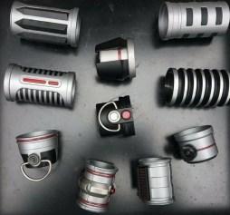 Savi's Workshop Power and Control scrap metal parts