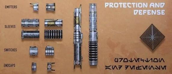 Savi's Workshop Protection and Defense scrap metal parts