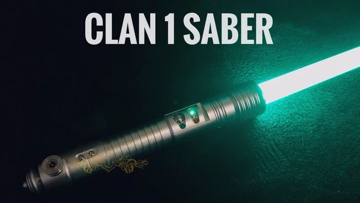 The Pach Store Clan 1 lightsaber