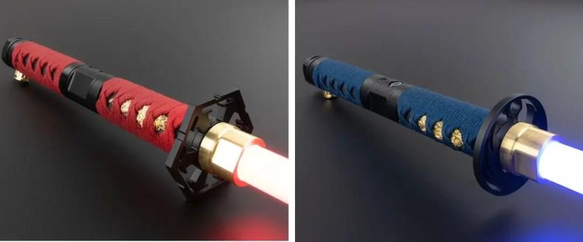 Saberforge MK4 Katana lightsaber