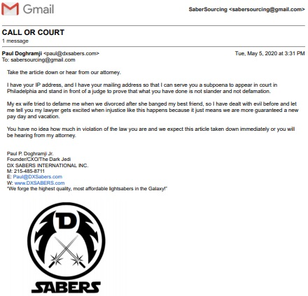 dx-sabers-call-or-court-email