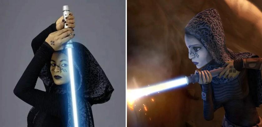Barriss Offee lightsaber
