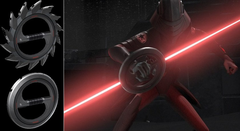 Eighth Brother lightsaber