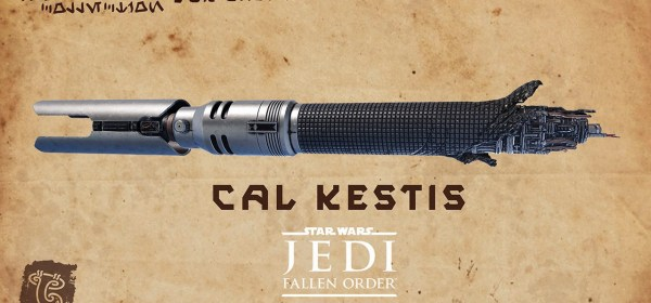 Star Wars Galaxy's Edge Cal Kestis legacy lightsaber