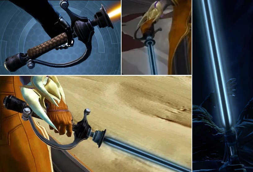 Swashbuckler's Lightsaber in the video game Star Wars: The Old Republic