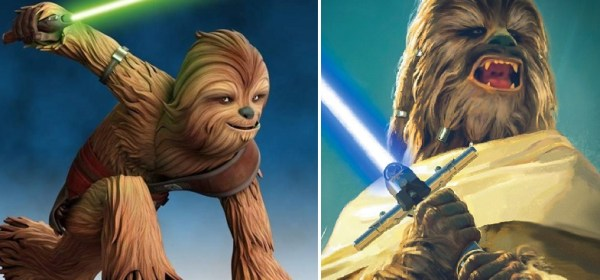 Wookiee Jedi