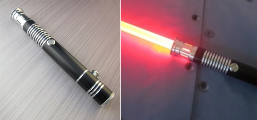 Ultrasabers Overlord lightsaber