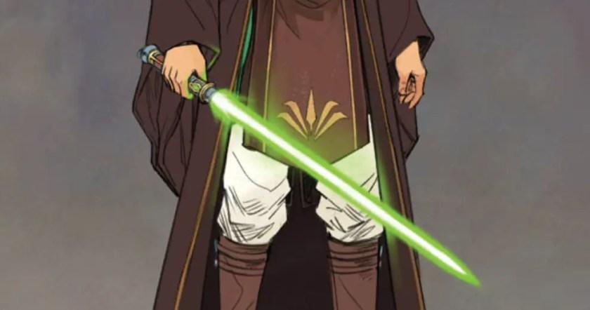 Reath Silas lightsaber concept art