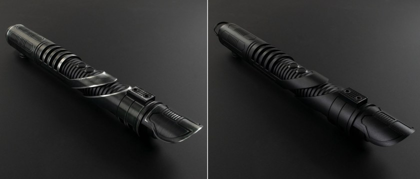 Saberforge Archon lightsaber Weathered Finish and