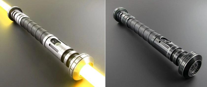 Saberforge Gladii Battle Staff lightsaber
