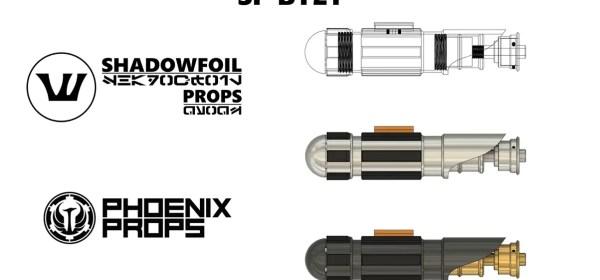 Shadowfoil Props x Phoenix Props SF-BY21 lightsaber