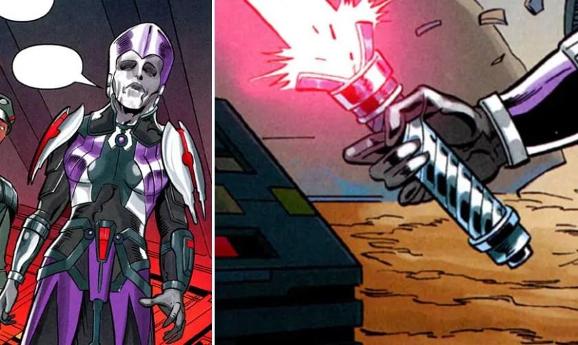 Darth Mekhis lightsaber (SWTOR lightsaber)