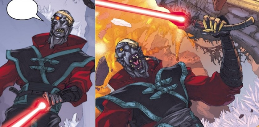 Lycan Lightsaber (Dark Jedi)