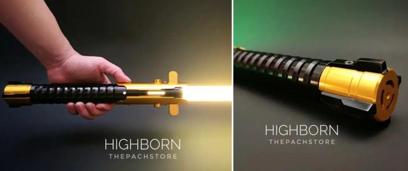 WonderForce HighBorn lightsaber