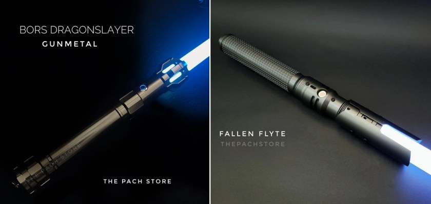 The Pach Store lightsabers
