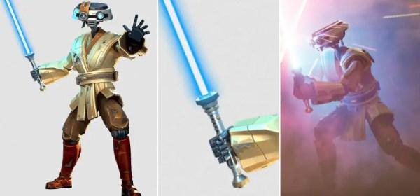 J-3DI lightsaber (droid lightsaber)
