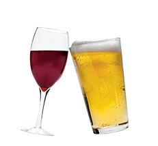 Vino vs Cerveza