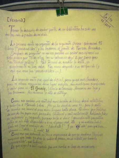 La carta de Andrea