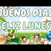 Buenos dias, FELIZ INICIO DE SEMANA #buenlunes