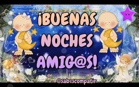 buenas noches amig@s