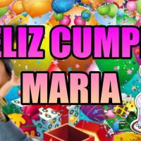 FELIZ CUMPLE MARIA