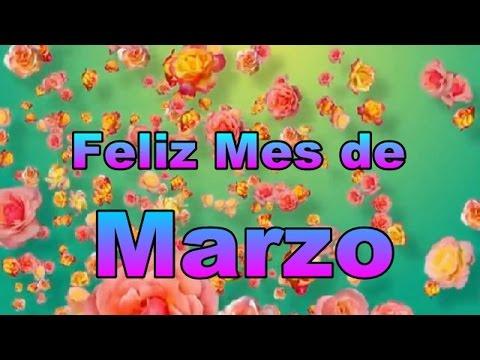 Feliz mes de Marzo