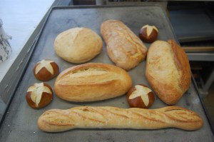 Loaves before casting