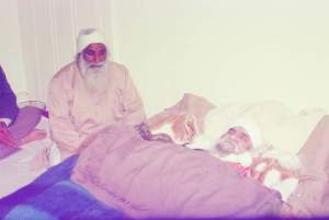 Jathedar Ji alongside Sant Ji Maharaj when they ascended for their heavenly abode