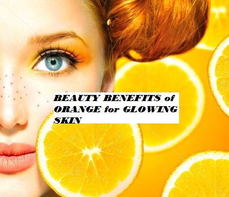 TOP AMAZING BEAUTY BENEFITS of ORANGE for GLOWING SKIN
