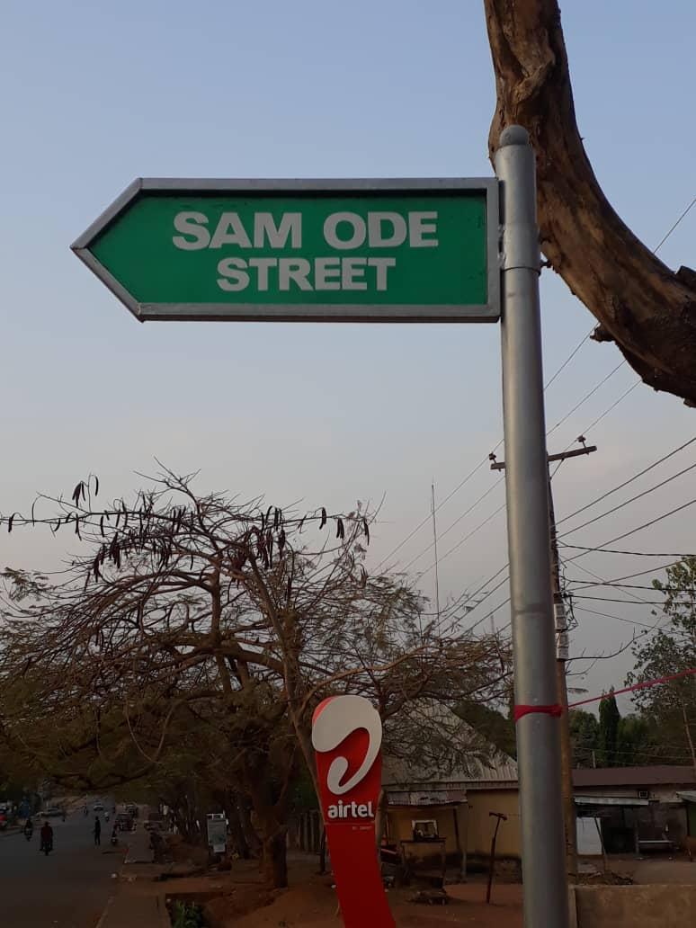 SAM ODE STREET, MARKUDI, BENUE STATE.