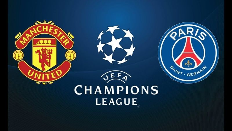 UEFA CHAMPIONS LEAGUE: PSG OUT, MAN UNITED IN