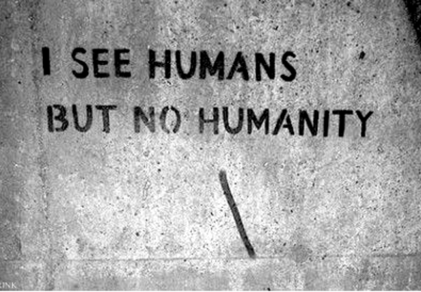HUMANITY BEFORE EVERYTHING ELSE
