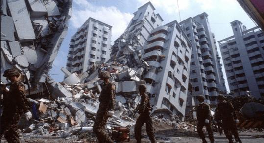 Los países más sísmicos en el mundo
