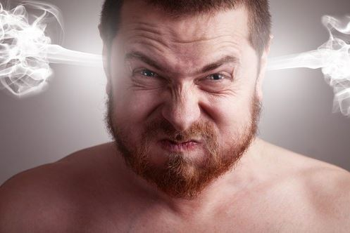 Los especialistas aseguran que enfadarse engorda