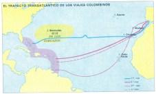 Los viajes de Cristóbal Colón (I/III).