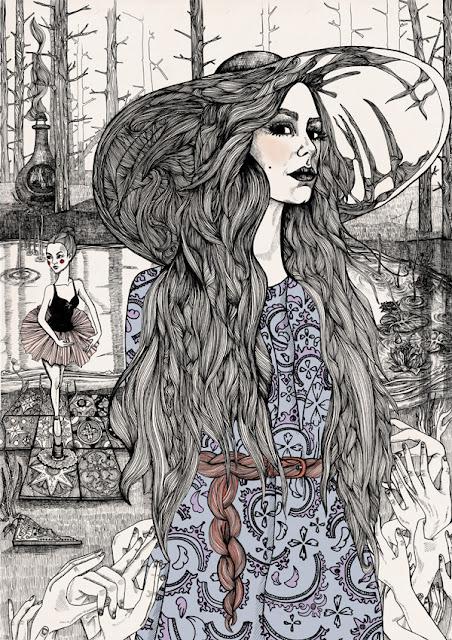 Inspiration: Illustration by Lindalovisa Fernquist, Fabian Ciraolo and Zhenya Zhuravlova