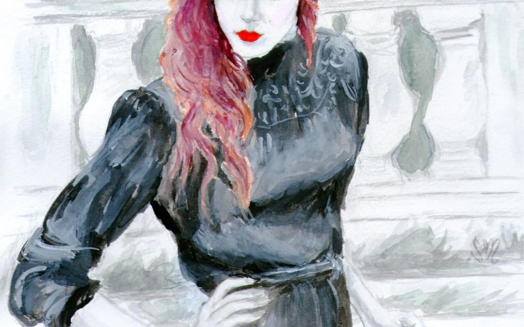 Louise Ebel, the Art-Inspired Blogger