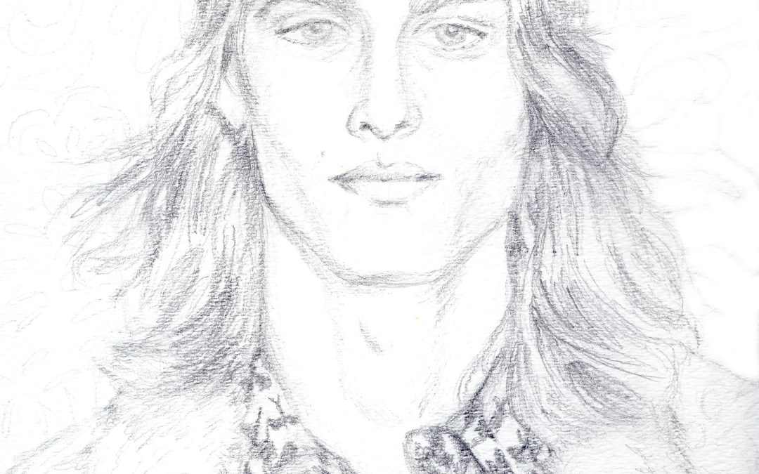 WIP: Male model for Anna Sui New York Fashion Week Spring 2014 RTW