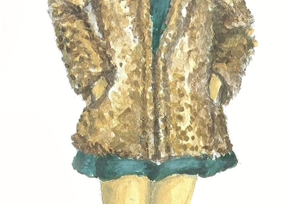 Feeling Fur, Fake, that is, at Anthropologie