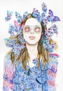 Anna Sui butterflies