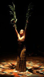 "Sabina Zuniga Varela as Medea in ""Bruja"" at Magic Theatre (Photo: Jennifer Reiley)."