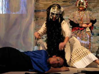 The student is visited by La Muerte (SZV and Michelle Otero)