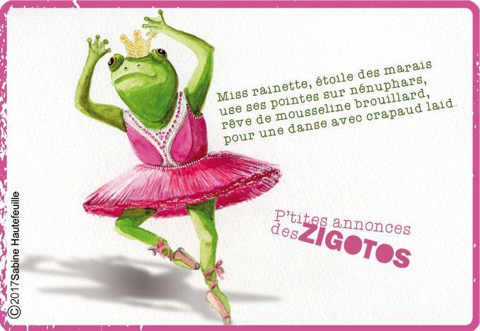 illustration enfant -illustration jeunesse- sabine hautefeuille-grenouille ,petites annonces des zigotos,illustration jeunesse
