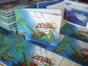 zélie et le 6e continent version cartonnée