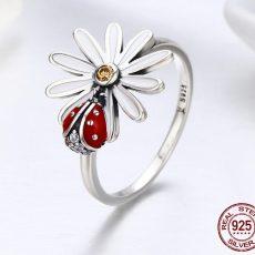 Inel Lady Bug din Argint 925