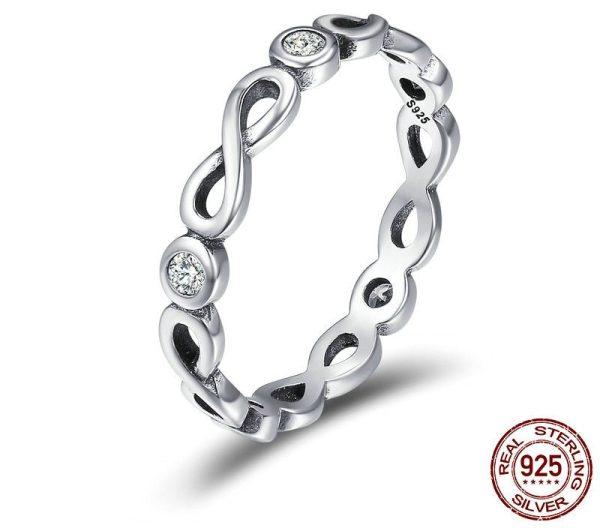 Inel Infinity Blessings din Argint