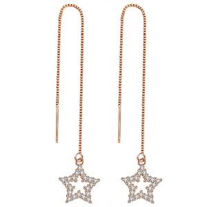 Cercei Punk Star Gold