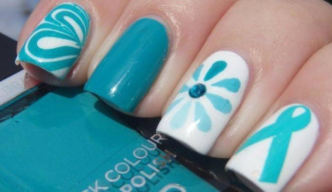 SPJ-Teal Tea and Nails