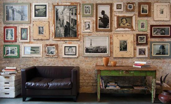 SPJ-Distressed Wood Frames